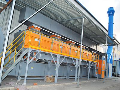 12000风量滤筒除尘器滤芯尺寸及结构特点
